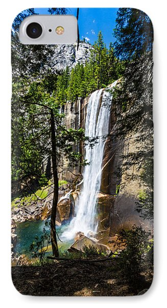 Vernal Falls Through The Trees IPhone Case