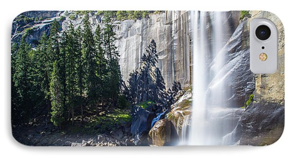IPhone Case featuring the photograph Vernal Falls Yosemite by Mike Lee