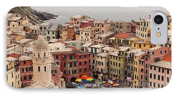Vernazza Italy IPhone Case by Kim Fearheiley