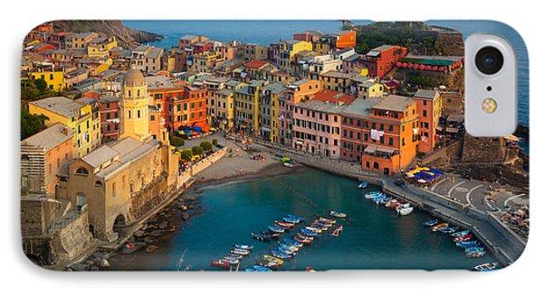 Vernazza Pomeriggio IPhone Case by Inge Johnsson