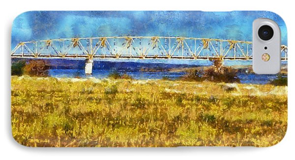 IPhone Case featuring the digital art Vernita Bridge by Kaylee Mason