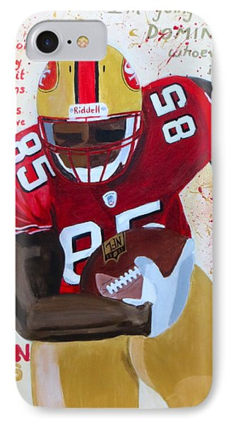 Vernon Davis 49ers IPhone Case