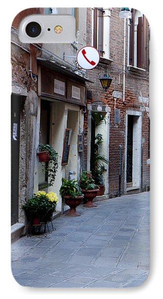 Venetian Alleyway Phone Case by Rae Tucker