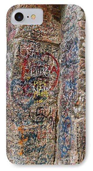 Verona Italy Locks Of Love IPhone Case by Robin Maria Pedrero
