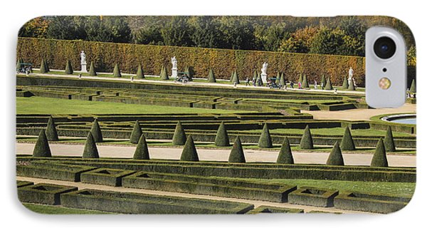 IPhone Case featuring the photograph Versailles Gardens by Glenn DiPaola