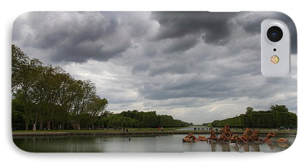 IPhone Case featuring the photograph Versailles Storm by Ross Henton