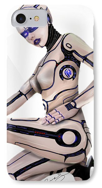 IPhone Case featuring the digital art Version 2.0 by Jeremy Martinson