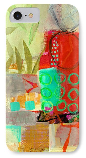 Vertical 5 IPhone Case by Jane Davies