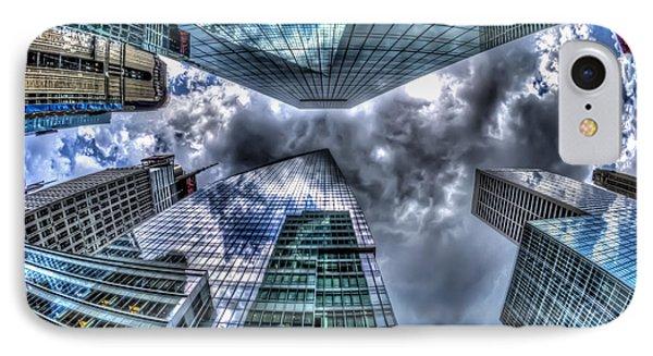 Vertigo In Nyc IPhone Case by Rafael Quirindongo
