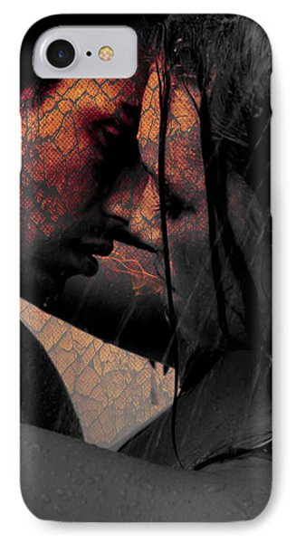 Very Hot Lovers IPhone Case by Teri Schuster