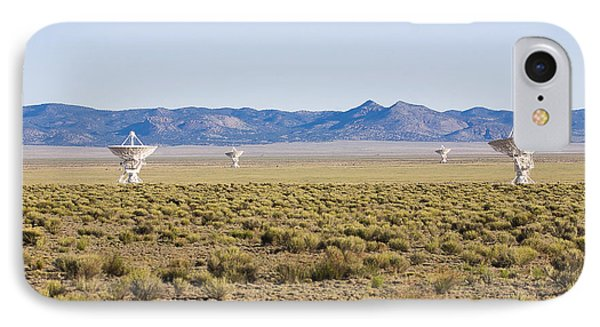 Very Large Array Phone Case by Steven Ralser