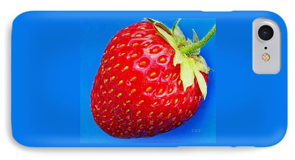 Very Strawberry  IPhone Case by Chris Berry