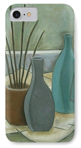 Vessels And Reeds IPhone Case by Trish Toro