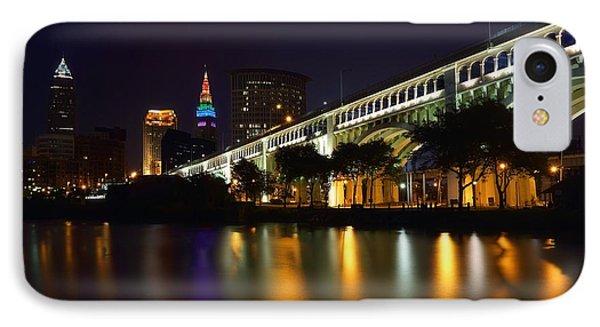 Veteran's Memorial Bridge IPhone Case by Daniel Behm