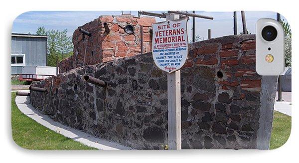 Veterans Memorial  IPhone Case by Devinder Sangha