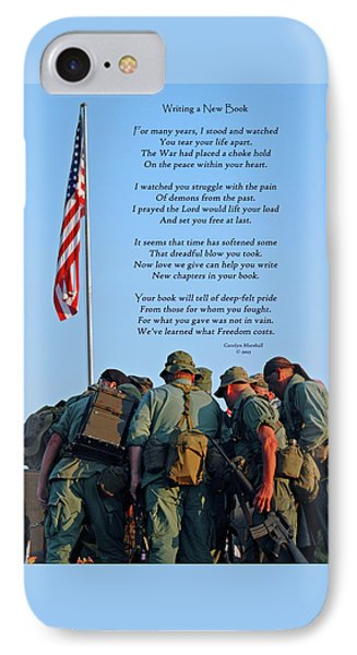 Veterans Remember Phone Case by Carolyn Marshall