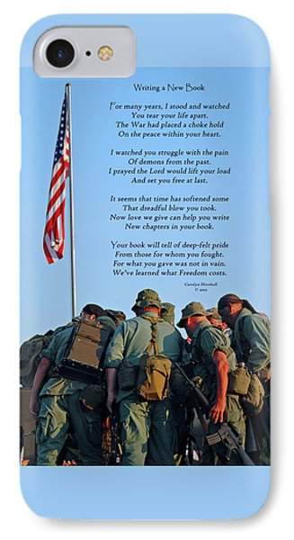 Veterans Remember IPhone Case by Carolyn Marshall