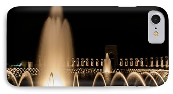 IPhone Case featuring the photograph Veterans Remembered by Dawn Romine