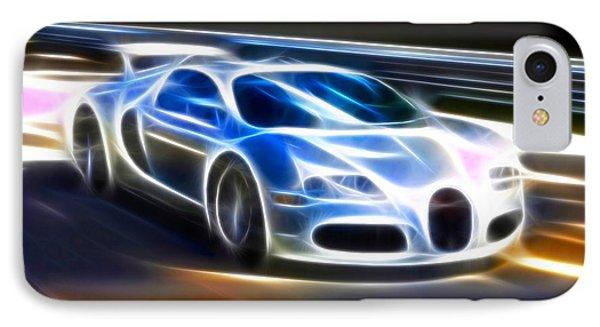 Veyron - Bugatti IPhone Case by Pamela Johnson