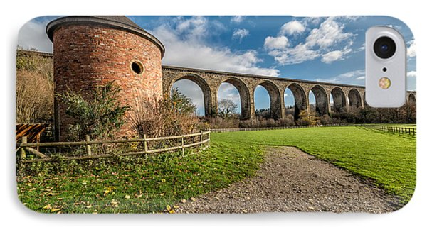 Viaduct Ty Mawr Park Phone Case by Adrian Evans