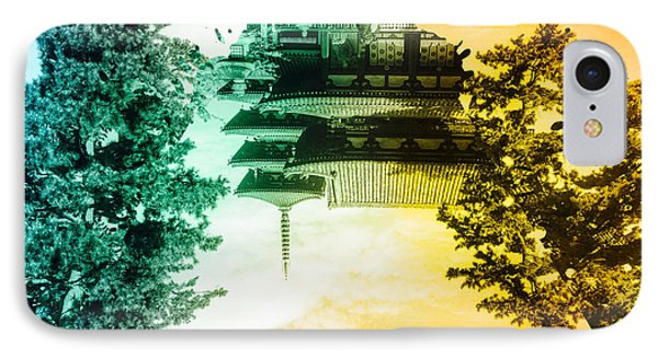 Vibrant Ancient Temple And Pagoda IPhone Case