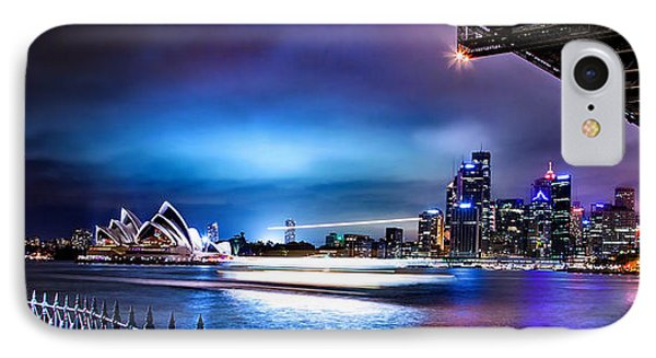 Vibrant Sydney Harbour IPhone Case