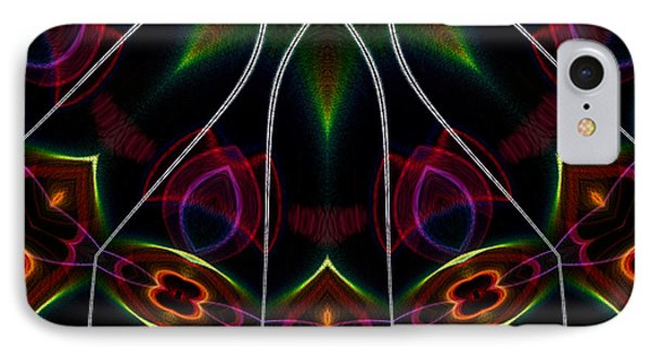 IPhone Case featuring the digital art Vibrational Tendencies by Owlspook
