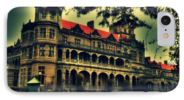Viceregal Lodge Shimla Phone Case by Salman Ravish