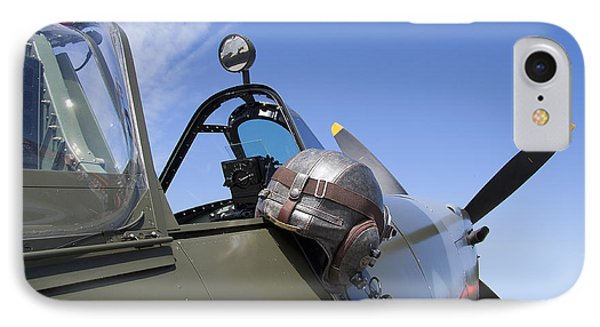 Vickers Spitfire Phone Case by Daniel Hagerman