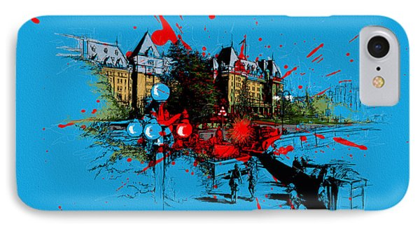 Victoria Art 003 Phone Case by Catf
