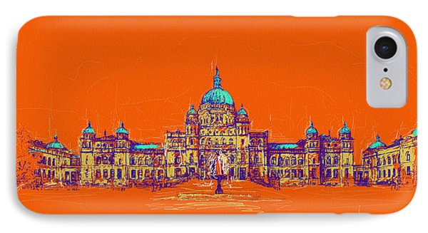 Victoria Art 006 IPhone Case