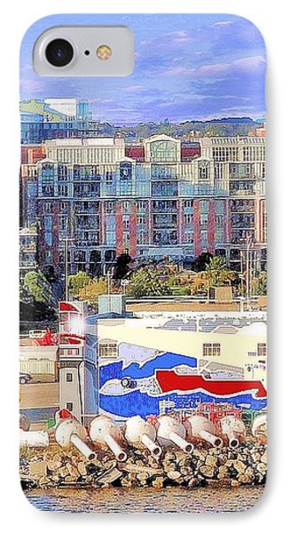 Victoria Bc Canada Harbor Phone Case by Janette Boyd