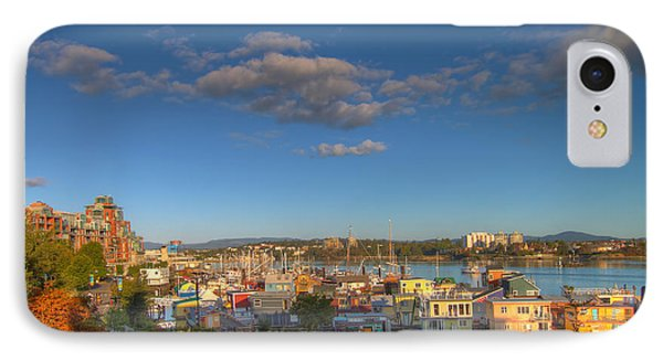 Victoria Bc Fisherman's Wharf IPhone Case by Jit Lim
