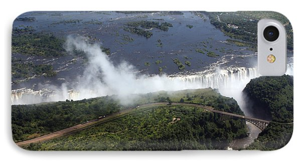 Victoria Falls  Phone Case by Aidan Moran