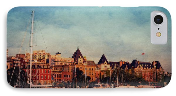 Victoria Historic Buildings  IPhone Case by Maria Angelica Maira