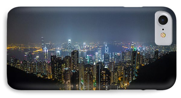 IPhone Case featuring the photograph Victoria Peak by Mike Lee