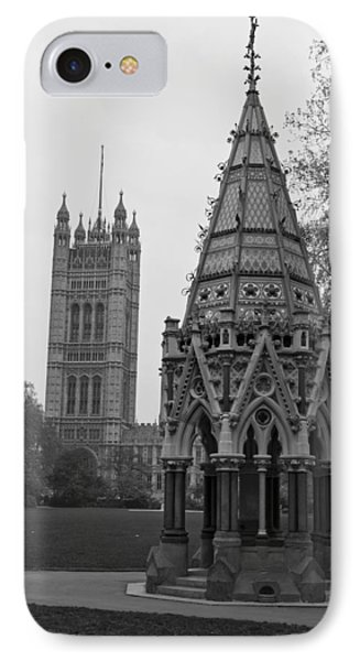 IPhone Case featuring the photograph Victoria Tower Garden by Maj Seda