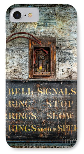 Victorian Bell Sign Phone Case by Adrian Evans