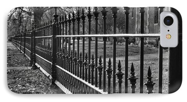 Victorian Fence Phone Case by Jane Linders