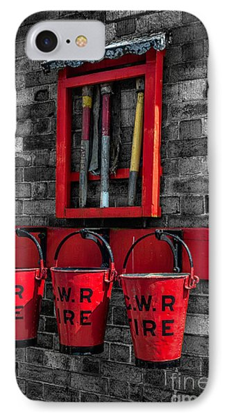 Victorian Fire Buckets IPhone Case by Adrian Evans