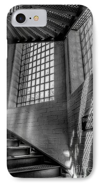 Victorian Jail Staircase V2 Phone Case by Adrian Evans