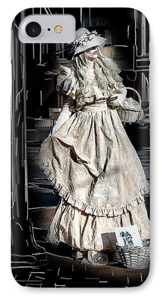 Victorian Lady Phone Case by John Haldane