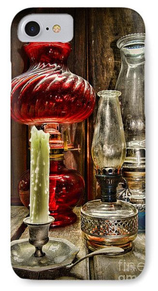 Victorian Lamps IPhone Case by Paul Ward