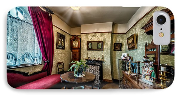 Victorian Lounge IPhone Case by Adrian Evans
