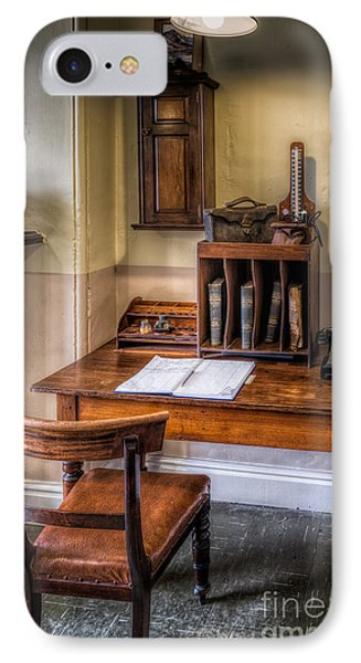 Victorian Medical Office IPhone Case by Adrian Evans