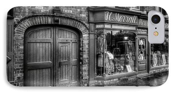 Victorian Menswear Phone Case by Adrian Evans