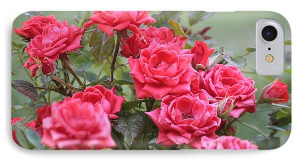 Victorian Rose Garden Phone Case by Carol Groenen