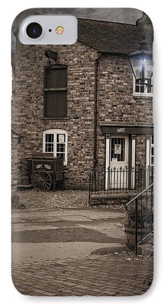 Victorian Stone House Phone Case by Amanda Elwell