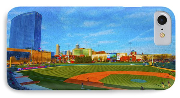 Victory Field 1 Phone Case by David Haskett