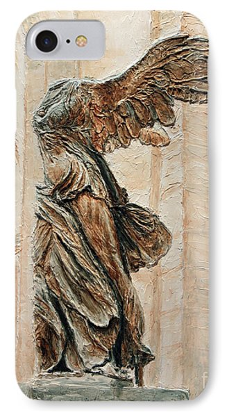 Victory Of Samothrace IPhone Case by Joey Agbayani